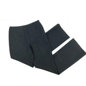 Chanel Black High Waist Wool Silk Dress Pants